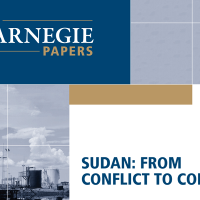 sudan from conflict to conflict